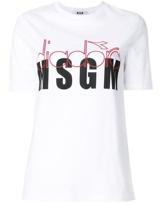 f53eb997 Women's White X Diadora Branded T-shirt
