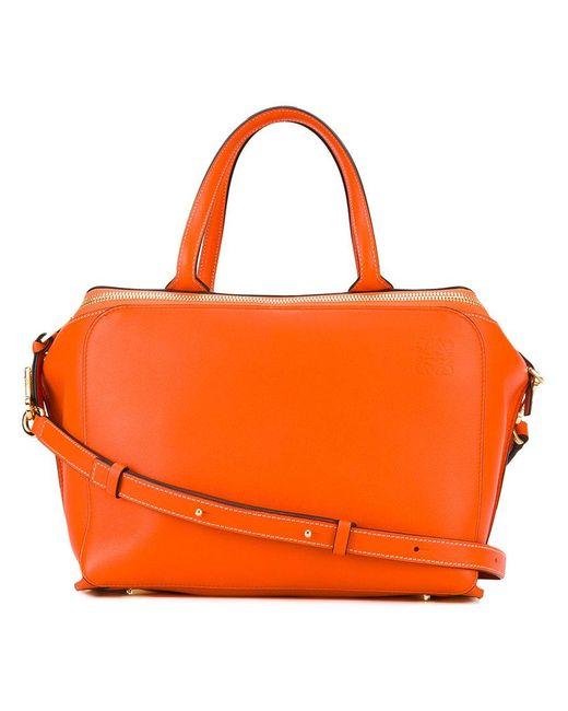 Loewe | Orange Zipper Bag | Lyst