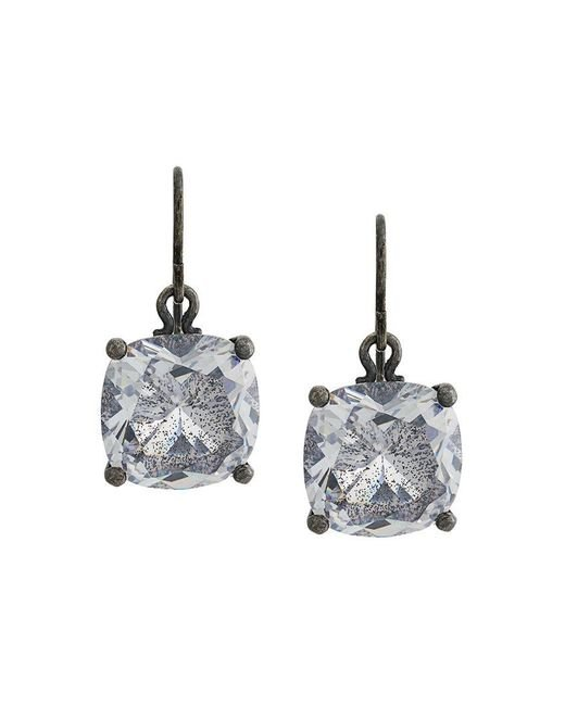 Bottega Veneta - Metallic Glass Earrings - Lyst