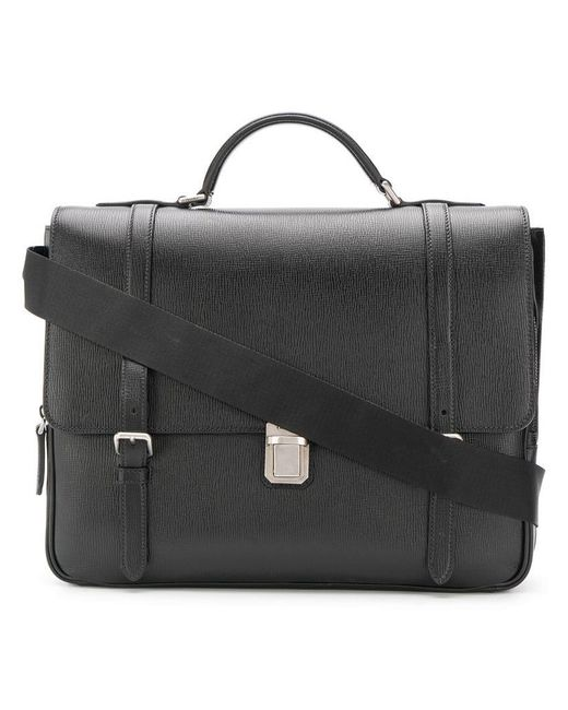 5acf60a59e30 Church s - Black Buckingham Briefcase for Men - Lyst ...