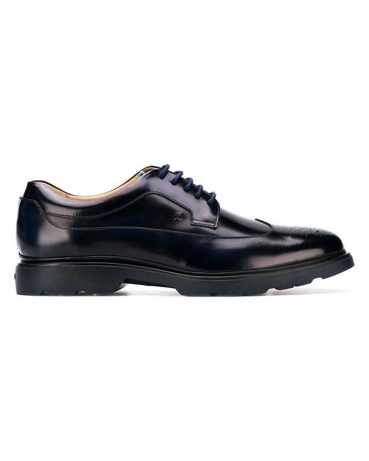 Hogan - Blue Klassische Derby-Schuhe for Men - Lyst