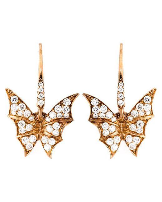 Stephen Webster | Metallic Diamond Wing Earrings | Lyst
