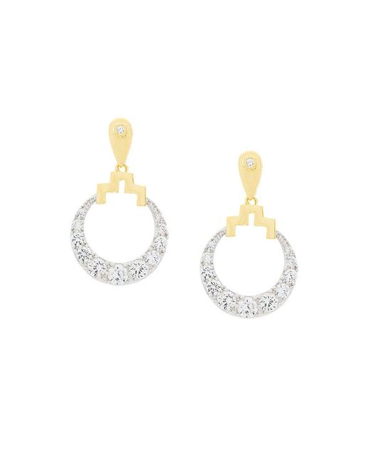 V Jewellery - Metallic Bianca Earrings - Lyst