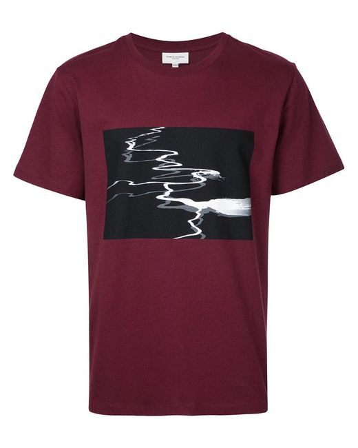 Lyst Public School Printed T Shirt In Red For Men