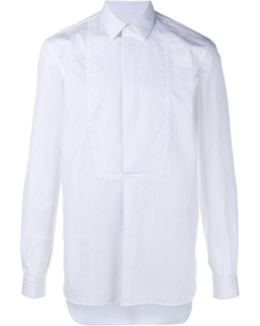 Maison Margiela | White Button Placket Shirt for Men | Lyst