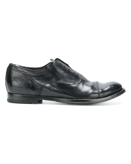 Officine Creative | Black Classic Lace-up Shoes for Men | Lyst