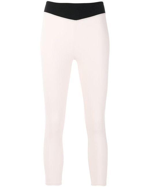 Sàpopa - Pink Colour Block Leggings - Lyst