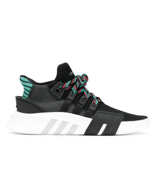 Adidas - Black Eqt Bask Adv Sneakers for Men - Lyst