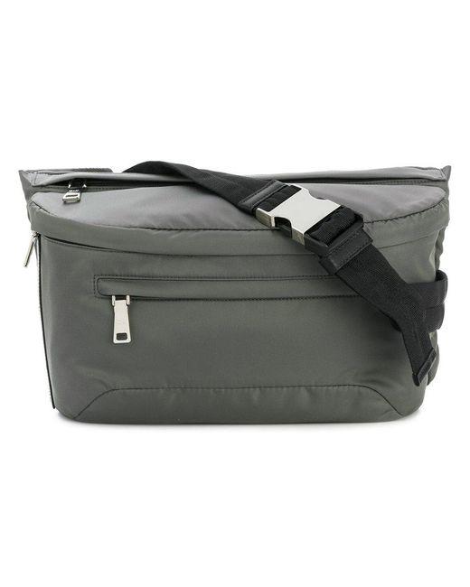 Prada | Gray Zipped Belt Bag for Men | Lyst