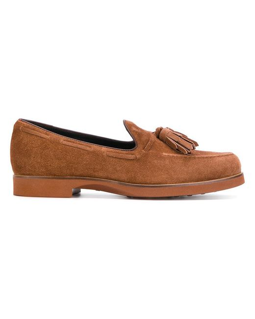 Tod's - Brown Classic Loafers for Men - Lyst