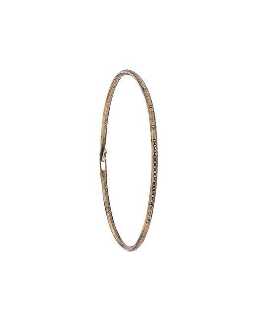Werkstatt:münchen | Metallic Bangle Bracelet for Men | Lyst