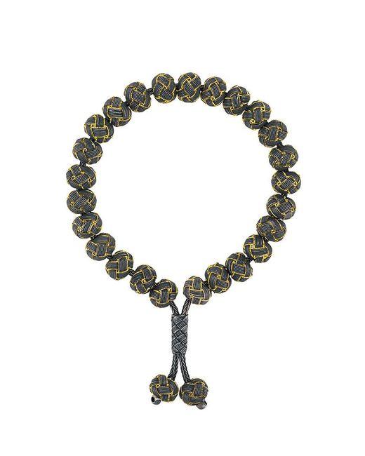 Monan - Green Knotted Bead Bracelet - Lyst