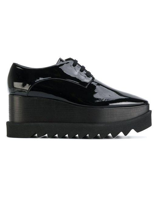 Stella McCartney   Black Elyse Platform Shoes   Lyst