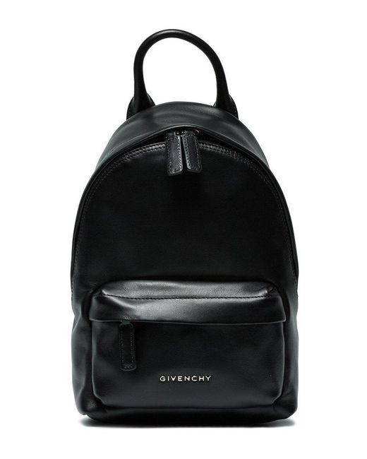 Givenchy | Black Logo Plaque Nano Backpack | Lyst
