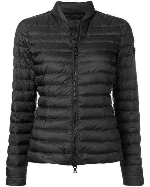 Peuterey - Black Slim-fit Puffer Jacket - Lyst