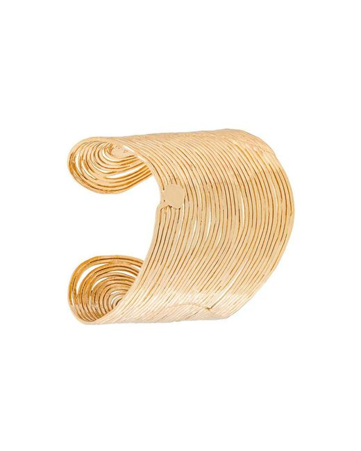 Gas Bijoux - Metallic 'wave' Cuff - Lyst