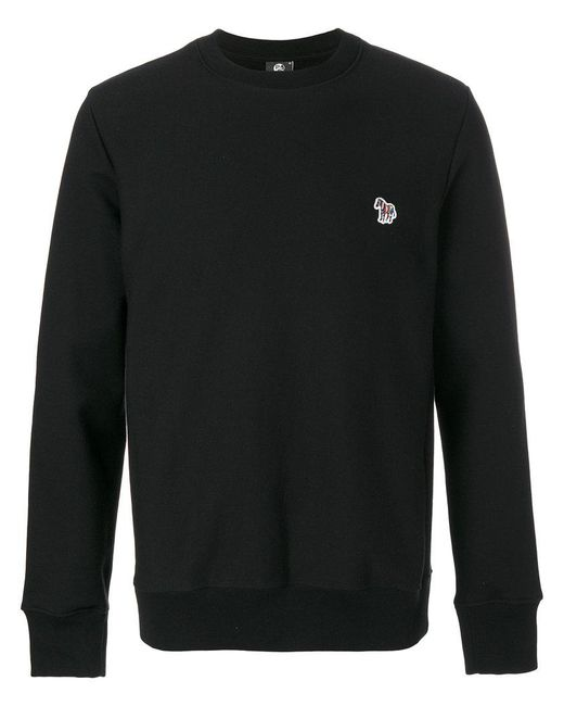 PS by Paul Smith | Black Embroidered Sweatshirt for Men | Lyst