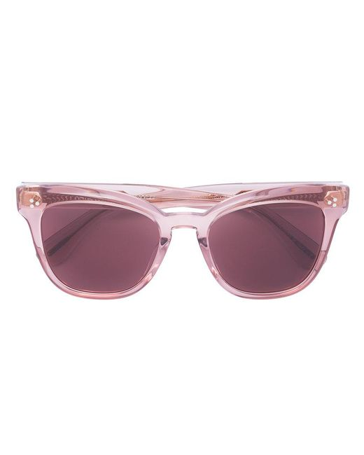 Oliver Peoples - Multicolor Cat Eye Sunglasses - Lyst