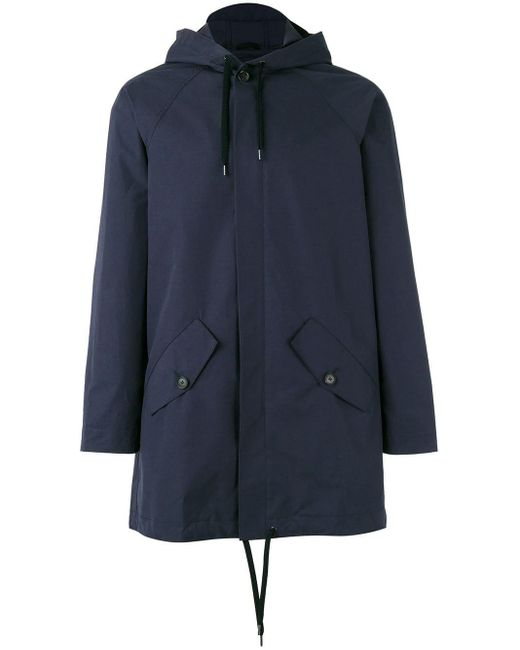 A Kind Of Guise - Blue Drawstring Hooded Jacket for Men - Lyst