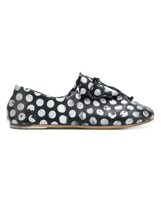 Marsèll - Black Lace-up Shoe - Lyst