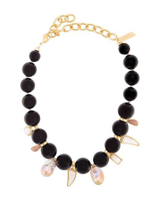 Lizzie Fortunato | Black Evora Necklace | Lyst