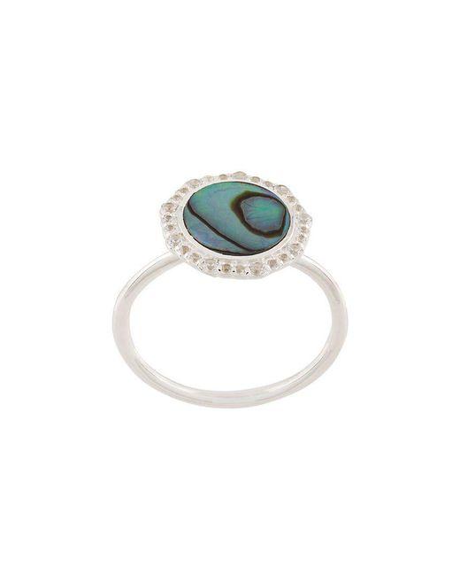 Astley Clarke - Metallic Abalone Luna Ring - Lyst