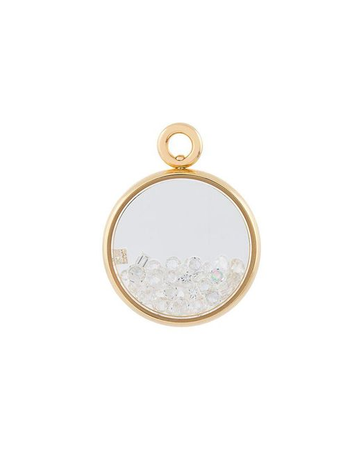 Aurelie Bidermann - Metallic 'chivoir' Diamond Pendant - Lyst