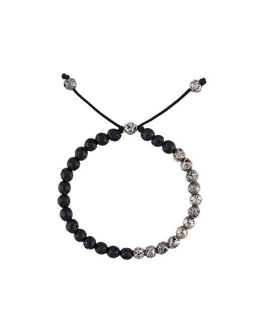 M. Cohen - Black Lava Stone Bead Bracelet for Men - Lyst