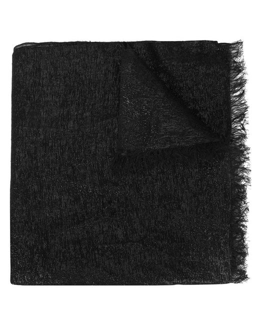 Bajra - Black Metallic Scarf - Lyst