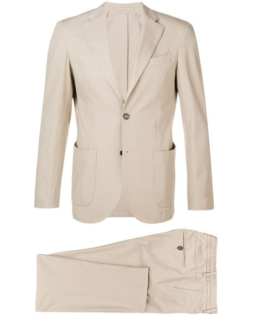 Eleventy Natural Casual Two-piece Suit for men