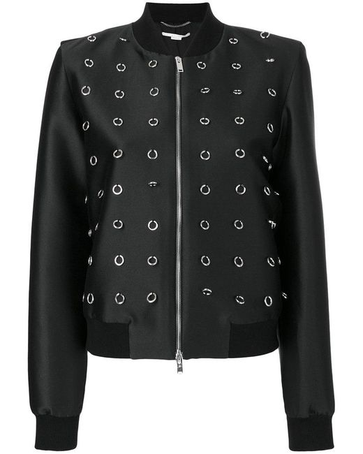 Stella McCartney | Black Silver-tone Loop Jacket | Lyst