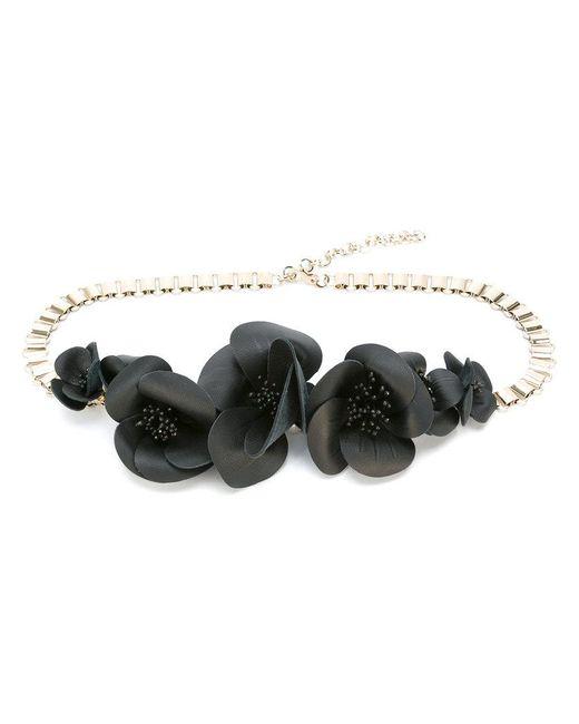 Elie Saab   Metallic Floral Chain Belt   Lyst