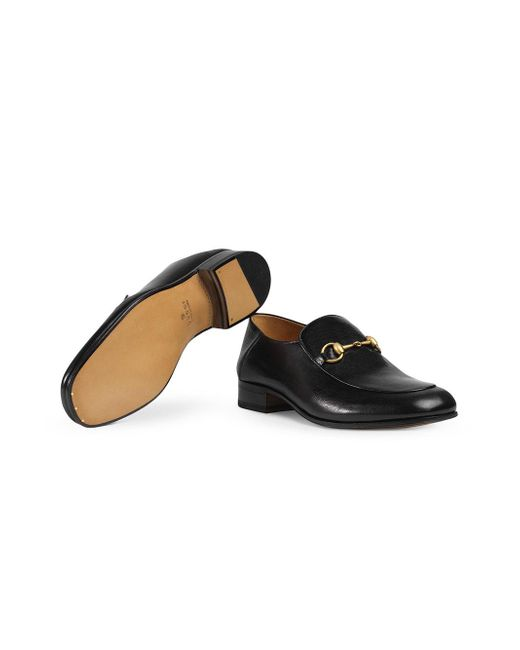f8660b1b2 Lyst - Gucci Leather Horsebit Loafer in Black for Men - Save 4%