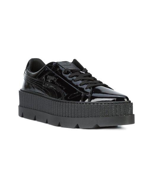 eeb229a0caf241 Lyst - Puma x fenty by rhianna Pointy Creeper Sneakers in Black