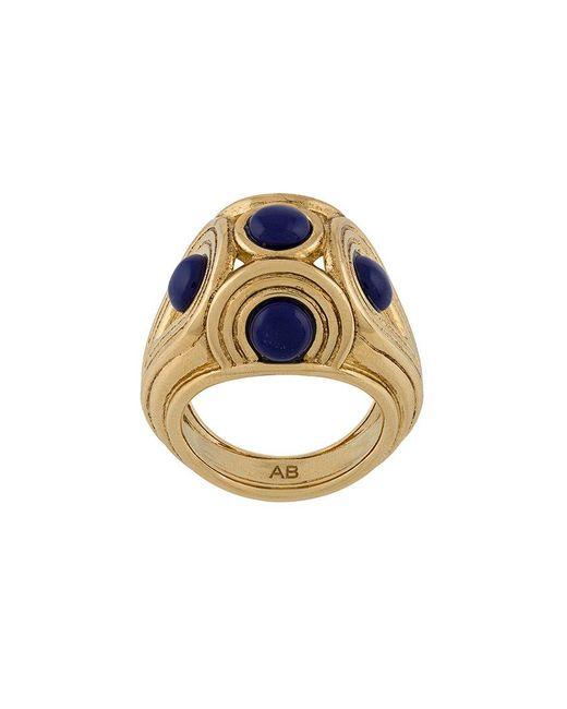 Aurelie Bidermann - Metallic Azzura Ring - Lyst