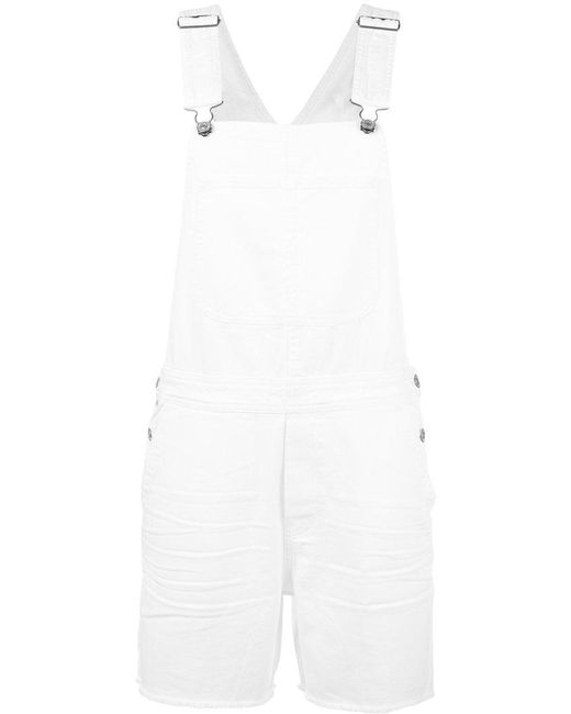 Citizens of Humanity | White Distressed Dungarees | Lyst
