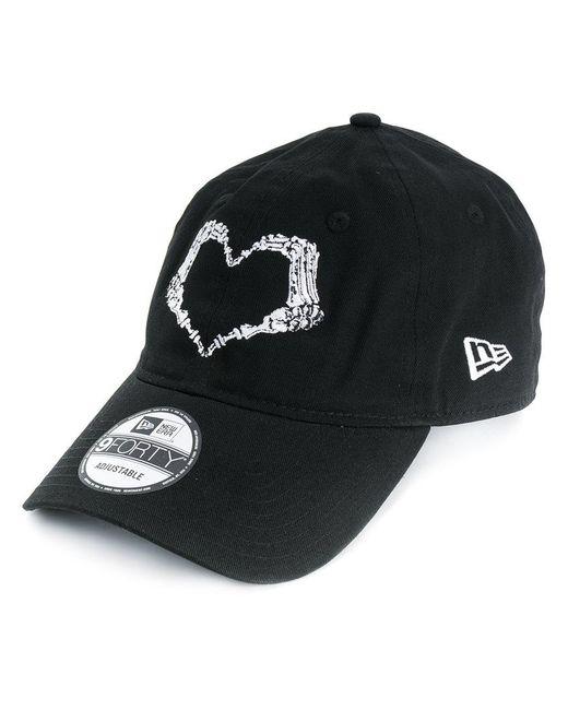 Lyst - KTZ Heart Stamp Cap in Black cf449ca9a2d5