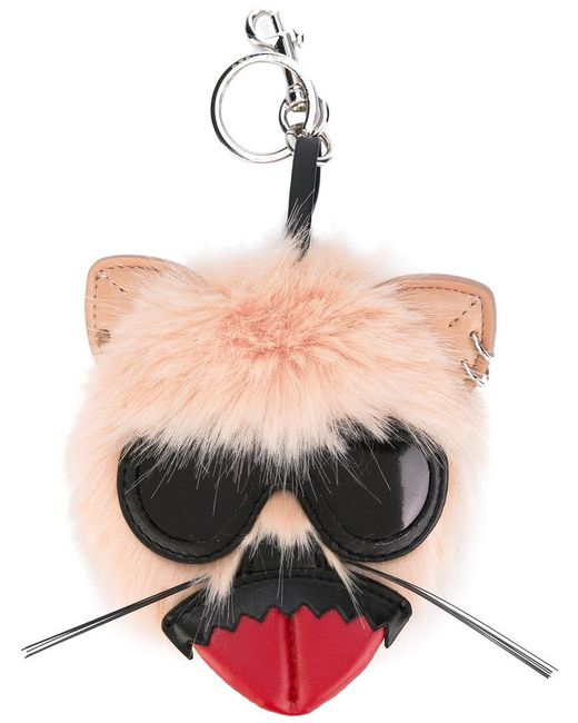 Stella McCartney - Multicolor Punk Tongue Rabbit Keyring - Lyst
