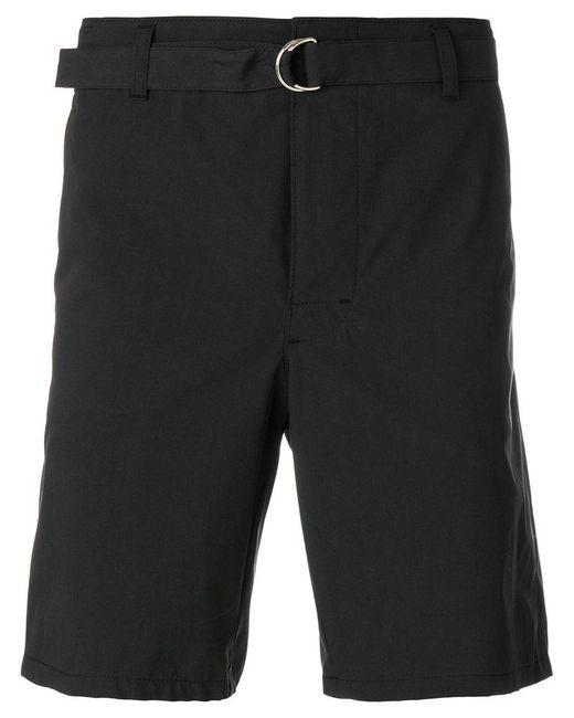 Prada | Black Belted Bermuda Shorts for Men | Lyst