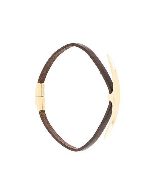 Shaun Leane - Brown 'Arc' Armband for Men - Lyst