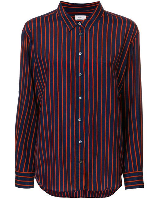 New Cheap Online Joan striped shirt - Blue Closed Cheap Visa Payment Discount Explore jJ6Funa6w
