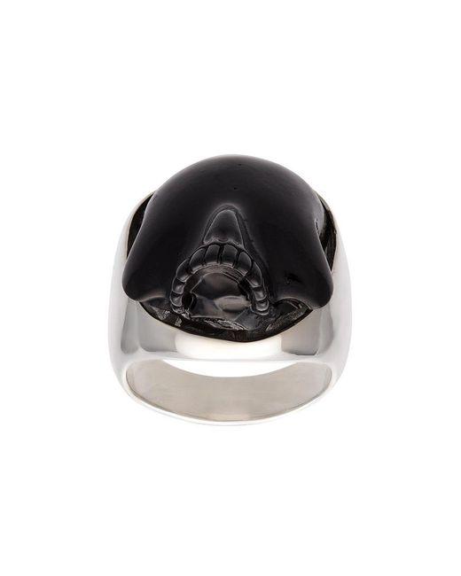 Undercover - Metallic Skull Ring for Men - Lyst