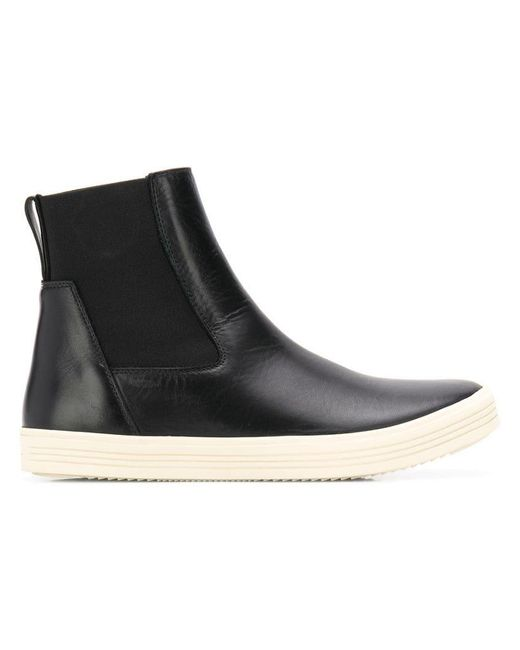 Rick Owens - Black Ankle Sneaker Boots - Lyst