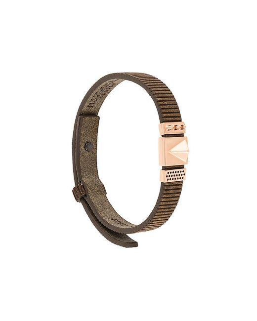 Northskull - Brown 'rupe' Bracelet for Men - Lyst