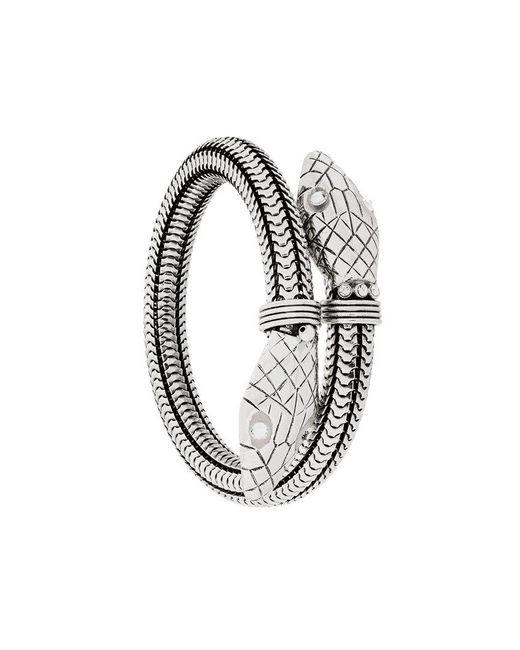 Gas Bijoux - Metallic Cobra Bracelet - Lyst