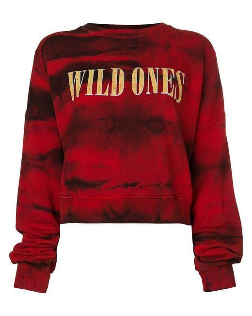 Amiri - Red Printed Sweatshirt - Lyst
