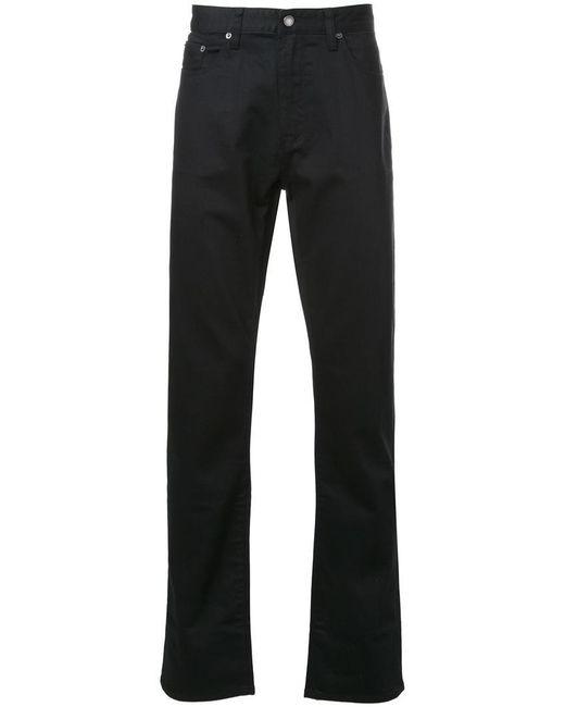 Kent & Curwen | Black 'fine Twill' Jeans for Men | Lyst