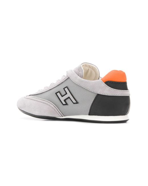b2f0048a943 ... Hogan - Gray Olympia Sneakers for Men - Lyst ...