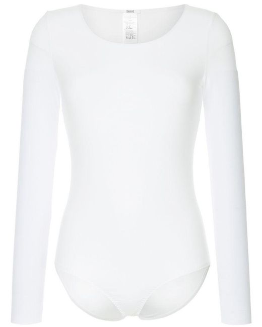 Wolford - White Stretch Fit Bodycon - Lyst
