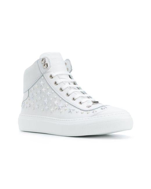 En Lyst Jimmy Homme Argyle Baskets Choo Pour Blanc Coloris vqvAUfw